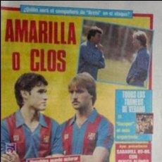 Coleccionismo deportivo: SPORT-1985-Nº2064-48 PAGINAS-AMARILLA-CLOS-ARCHIBALD-ESTEBAN-SALVA-URRUTI- CARRASCO-N'CONO-KEMPES. Lote 21148400