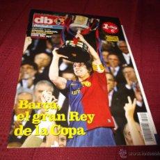 Coleccionismo deportivo: EXTRA DON BALON Nº 110: EDICIÓN ESPECIAL FC BARCELONA CAMPEON COPA DEL REY 2008-2009. POSTER GIGANTE. Lote 45807171