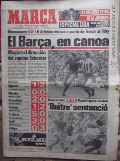 MARCA-1984-Nº13314-40 PAGINAS-JORNADA DE LIGA-LUIS-VENABLES-ORMAECHEA-BENITEZ-CLEMENTE-AZCARGORTA (Coleccionismo Deportivo - Revistas y Periódicos - Marca)