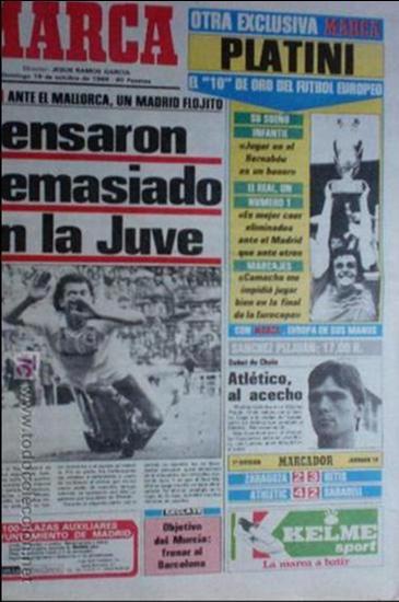 MARCA-1986-13929- (Coleccionismo Deportivo - Revistas y Periódicos - Marca)