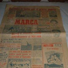 Coleccionismo deportivo: ANTIGUO PERIODICO MARCA, 1950. Lote 45986818