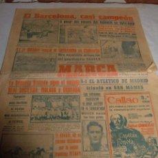 Coleccionismo deportivo: ANTIGUO PERIODICO MARCA, 1949. Lote 45986823