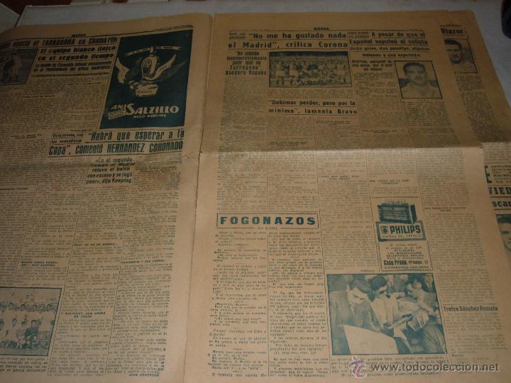Coleccionismo deportivo: ANTIGUO PERIODICO MARCA, 1949 - Foto 2 - 45986823