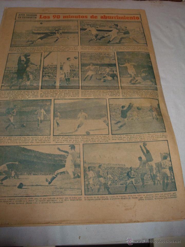 Coleccionismo deportivo: ANTIGUO PERIODICO MARCA, 1949 - Foto 4 - 45986823