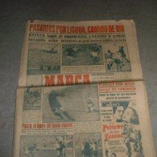 Coleccionismo deportivo: ANTIGUO PERIODICO MARCA, 1950. Lote 46004952