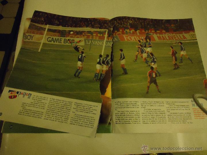 Coleccionismo deportivo: REVISTA BARCA FUTBOL CLUB BARCELONA TRICAMPEON . - Foto 6 - 46082857