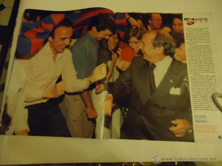 Coleccionismo deportivo: REVISTA BARCA FUTBOL CLUB BARCELONA TRICAMPEON . - Foto 13 - 46082857