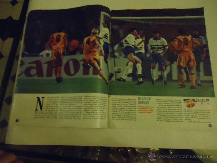 Coleccionismo deportivo: REVISTA BARCA FUTBOL CLUB BARCELONA TRICAMPEON . - Foto 15 - 46082857