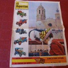 Coleccionismo deportivo: SUPLEMENTO COLOR EL MUNDO DEPORTIVO(25-2-68) X RALLY INTERNAC. BARCELONA-SITGES COCHES ÉPOCA-FOTOS. Lote 46136611