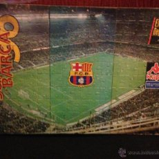 Coleccionismo deportivo: FCBARCELONA BARÇA PUZZLE 1996 EL MUNDO DEPORTIVO MONTADO EN MADERA Y BARNIZADO. Lote 46154950