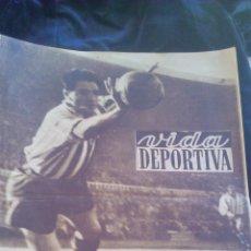 Coleccionismo deportivo - Vida Deportiva. Es mejor penalty que gol. Los mejores cien ciclistas . Año IX Nº 331. 1952 - 46310033
