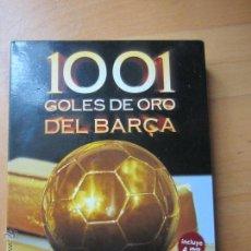 Coleccionismo deportivo: 1001 GOLES DE ORO DEL BARCELONA,COLECCIÓN IMPRESCINDIBLE PARA CUALQUIER CULÉ. Lote 46391660