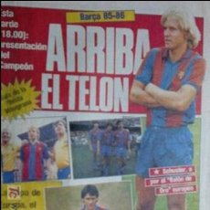 Coleccionismo deportivo: SPORT-1985-Nº2051-40 PAGINAS-PERICO ALONSO-VENABLES-SCHUSTER-ARCHIBALD-ESTEBAN-MUÑOZ. Lote 21148433