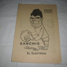 Coleccionismo deportivo: BIOGRAFIA DE SANCHIS , REAL MADRID - 40 DIAS , 40 ASES , 40 BIOGRAFIAS .. Lote 46414267