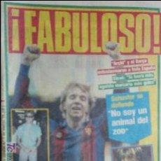 Coleccionismo deportivo: SPORT-1985-Nº2075-56 PAGINAS-MARCOS-ARCHIBALD-VENABLES-SCHUSTER-GIMENEZ-DA SILVA-KORTABARRIA. Lote 21148310