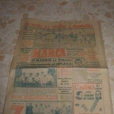 Coleccionismo deportivo: ANTIGUO PERIODICO MARCA, 1949. Lote 46435625