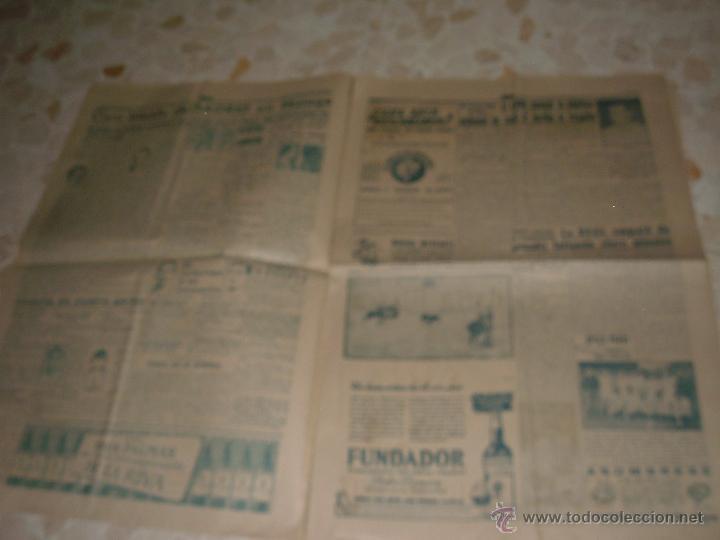 Coleccionismo deportivo: ANTIGUO PERIODICO MARCA, 1949 - Foto 2 - 46435625
