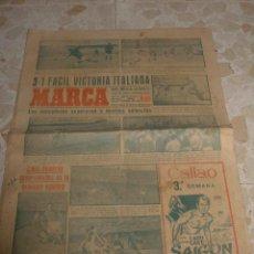 Coleccionismo deportivo: ANTIGUO PERIODICO MARCA, 1949. Lote 46435708