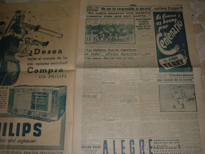 Coleccionismo deportivo: ANTIGUO PERIODICO MARCA, 1949 - Foto 2 - 46435708