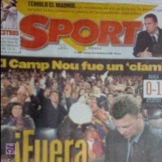Coleccionismo deportivo: SPORT-Nº 6860-1998-. Lote 21070496