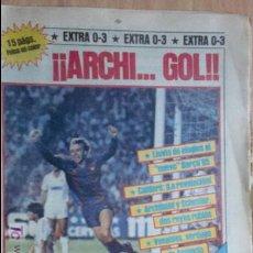 Collectionnisme sportif: SPORT-Nº1726-1984-ARCHI...GOL.-40 PAGINAS-MORAN-SCHUSTER-AMANCIO-VENABLES-MENOTTI-MIGUEL ANGEL. Lote 21071388