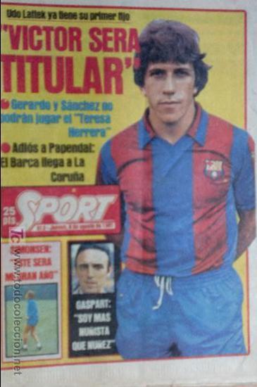SPORT-Nº613-1981-VICTOR-36 PAGINAS-SIMONSEN-JUANITO-UDO LATTEK-MAURI-ORMAECHEA (Coleccionismo Deportivo - Revistas y Periódicos - Sport)
