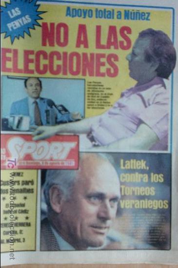 SPORT-Nº616-1981-LATTEK- CASAUS-MARCOS-36 PAGINAS-QUINI- (Coleccionismo Deportivo - Revistas y Periódicos - Sport)