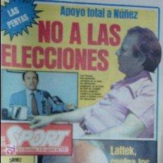 Coleccionismo deportivo: SPORT-Nº616-1981-LATTEK- CASAUS-MARCOS-36 PAGINAS-QUINI-. Lote 21071770