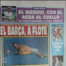 Coleccionismo deportivo: SPORT-1991-Nº4225-EL BARSA A FLOTE-TROFEO DE MELILLA,ESPAÑOL-AMERICA-. Lote 21135311