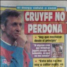 Coleccionismo deportivo: SPORT-1991-Nº4219-CRUYFF NO PERDONA-CONT.BARSA 91-92. Lote 21135353
