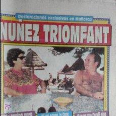 Coleccionismo deportivo: SPORT-1991-Nº4223-NUÑEZ TRIOMFANT. Lote 21135416
