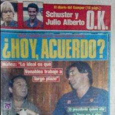 Coleccionismo deportivo: SPORT-1985-Nº2076-48 PAGINAS-CALDERE-KRANKL-AZKARGORTA-JUANITO-CRUYFF-VENABLES-GAMPER. Lote 21148329