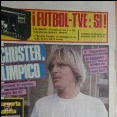 Coleccionismo deportivo: SPORT-1985-Nº2085-48 PAGINAS-JULIO ALBERTO-ESTEBAN-AZKARGORTA-DA SILVA-PATO FILLOL-SARABIA. Lote 21148431