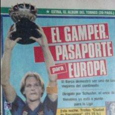 Coleccionismo deportivo: SPORT-1985-Nº2080-EXTRA,EL ALBUM DEL TORNEO-48 PAGINAS-CRUYFF-VENABLES-AMARILLA. Lote 21148473