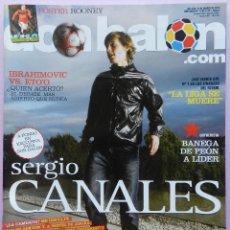 Coleccionismo deportivo: DON BALON Nº 1793 SERGIO CANALES-IBRAHIMOVIC ETOO-BANEGA-POSTER ROONEY-CESAR DELGADO-DIEGO ALVES. Lote 46473744
