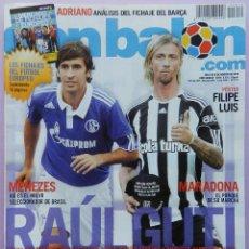 Coleccionismo deportivo - DON BALON Nº 1814 POSTER FILIPE LUIS ATLETICO-BLANC-ADRIANO BARÇA-SOLDADO-PEDRO RIOS-MARADONA-REP - 46492759