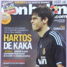 Coleccionismo deportivo - DON BALON Nº 1815 POSTER CANALES REAL MADRID-KAKA-ESTEBAN-KARANKA-LUIS MILLA-CANI-TOLUCA-MAICON - 46493195