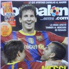 Coleccionismo deportivo: DON BALON Nº 1817 MESSI FC BARCELONA CAMPEON SUPERCOPA ESPAÑA 2010-POSTER KHEDIRA 10/11-VIVA LA LIGA. Lote 46493209