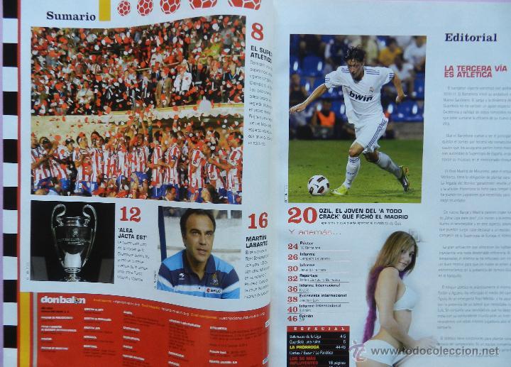 Coleccionismo deportivo: DON BALON Nº 1818 ATLETICO MADRID CAMPEON SUPERCOPA EUROPA 2010-POSTER FC BARCELONA LIGA 09/10 - Foto 2 - 46493849