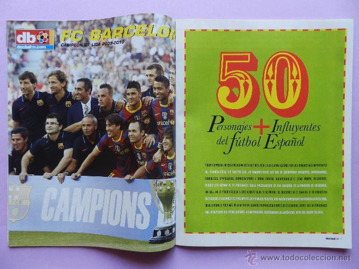 Coleccionismo deportivo: DON BALON Nº 1818 ATLETICO MADRID CAMPEON SUPERCOPA EUROPA 2010-POSTER FC BARCELONA LIGA 09/10 - Foto 3 - 46493849