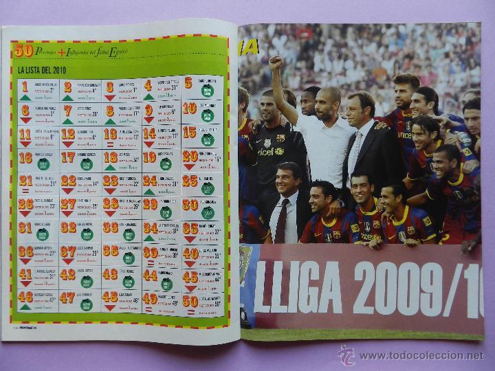 Coleccionismo deportivo: DON BALON Nº 1818 ATLETICO MADRID CAMPEON SUPERCOPA EUROPA 2010-POSTER FC BARCELONA LIGA 09/10 - Foto 4 - 46493849
