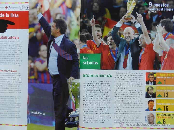 Coleccionismo deportivo: DON BALON Nº 1818 ATLETICO MADRID CAMPEON SUPERCOPA EUROPA 2010-POSTER FC BARCELONA LIGA 09/10 - Foto 8 - 46493849