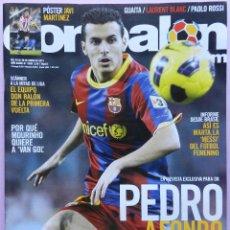 Coleccionismo deportivo: DON BALON Nº 1839 PEDRO-MARTA BRASIL-VAN NISTELROOY-GUAITA-POSTER JAVI MARTINEZ-PAOLO ROSSI-BLANC. Lote 52634508