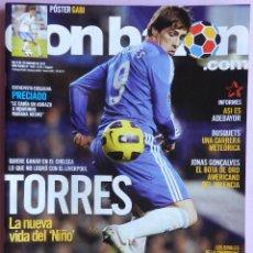 Coleccionismo deportivo: DON BALON Nº 1841 FERNANDO TORRES-ADEBAYOR-PRECIADO-BUSQUETS-POSTER GABI-DEMICHELIS-ZIDANE-BRAHIMI. Lote 46572181