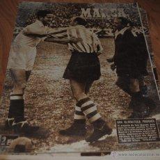Coleccionismo deportivo: MARCA SEMANARIO GRÁFICO DE LOS DEPORTES AÑO X Nº 334, MADRID 26 ABRIL 1949, LEER. Lote 46588999