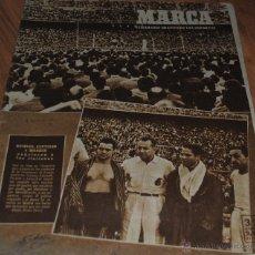 Coleccionismo deportivo: MARCA SEMANARIO GRÁFICO DE LOS DEPORTES, AÑO XI Nº 393, MADRID 13 JUNIO 1950, LEER. Lote 46604794