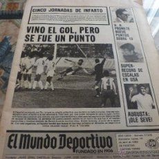Coleccionismo deportivo: MUNDO DEPORTIVO (14-4-80) ESPAÑOL 1 VALENCIA 1,URRUTI Y MUNDIAL MOTO-CROSS CON ARCARONS-FOTOS. Lote 46631180