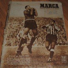 Coleccionismo deportivo: MARCA SEMANARIO GRÁFICO DE LOS DEPORTES, AÑO XI Nº 371, MADRID 10 ENERO 1950, LEER. Lote 46632362