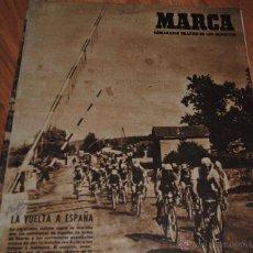 Coleccionismo deportivo: MARCA, SEMANARIO GRÁFICO DE LOS DEPORTES, AÑO XI Nº 403, MADRID 22 AGOSTO 1950, LEER. Lote 46633028