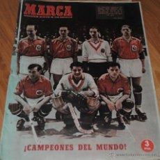 Coleccionismo deportivo: MARCA, SEMANARIO GRÁFICO DE LOS DEPORTES, AÑO XI Nº 445, MADRID 12 JUNIO 1951, LEER. Lote 46633088